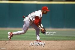 Barry Larkin 1997 Game Used Worn Cleats Cincinnati Reds MLB HOF