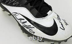 Bears Jared Allen Authentic Signed 12/6/15 Game Used Nike Cleats PSA #AC48282