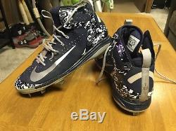 Ben Gamel Game Used Cleats Seattle Mariners MLB Milwaukee Brewers Yankees