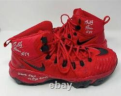 Billy Price Ohio State Football 2x All American GAME USED CLEATS 2017 PSU