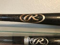 Boston Red Sox Dustin Pedroia Game Used Badeball Bat and Cleat