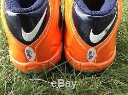 Brian Urlacher 2012 autographed / game used cleats. PSA JSA Photo matched