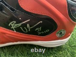 Brian Urlacher Chicago Bears Game Used Worn Cleats 2010 Signed Urlacher Auth