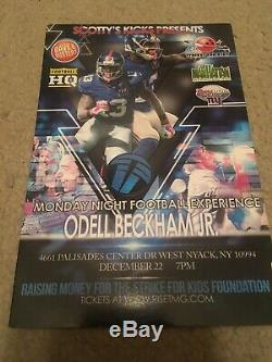 Browns Odell Beckham Jr Signed Autograph Game Used Worn Cleats Coa Steiner Nike