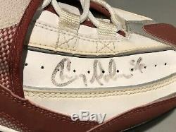 CHRIS DOLEMAN Game Used Signed Autographed Cleats Shoes San Francisco 49ers PSA