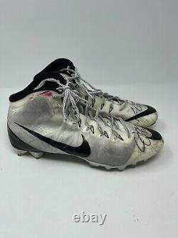 Cardale Jones GAME USED Ohio State Football Cleats 2014 NTL CHAMPS PSA/DNA