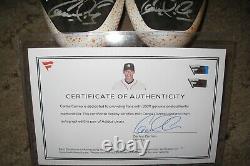 Carlos Correa Game Used Autographed Signed Adidas Baseball Cleats 2016 Fanatics