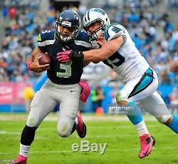 Carolina Panthers Luke Kuechly Rookie Game Used Pink Cleats Signed NFL Autograph
