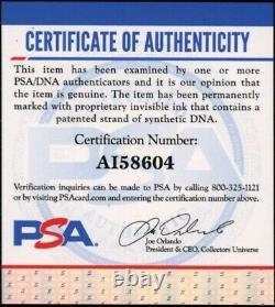 Chipper Jones Game Used Signed Autographed Cleat PSA/DNA COA Atlanta Braves
