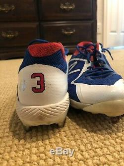 Chris Taylor Signed Game Used World Series Cleats (Lojosports Certified)