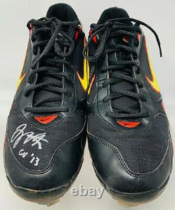 Cincinnati Reds Joey Votto Signed Game Used Cleats PSA DNA COA V78343