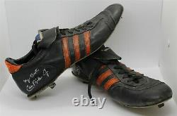 Circa 1982 Ripken Signed Auto Game-Used Cleats-The Boulder Ripken Collection