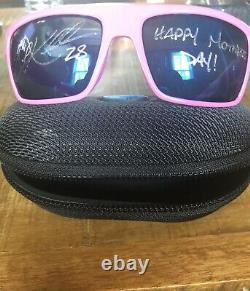 Corey Kluber Auto Game Used Mothers Day Costa Sunglasses W Case MLB Authentic