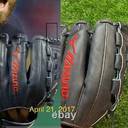 Corey Kluber Cleveland Indians Game Used Fielding Glove 2017 Photo Matched Auto
