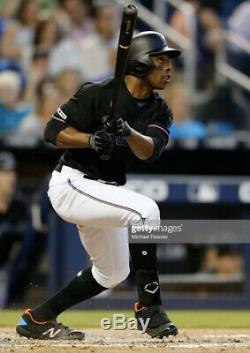 Curtis Granderson Miami Marlins Game Used Cleats Mets Yankees Tigers Blue Jays
