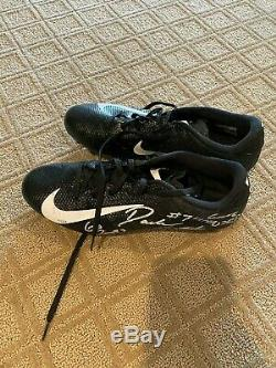 D'Andre Swift Game Worn Game Used Cleats UGA Bulldogs Georgia