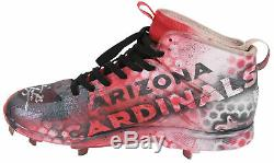 D-Backs Archie Bradley Signed'18 Game Used British Kustom Air Jordan Cleats BAS