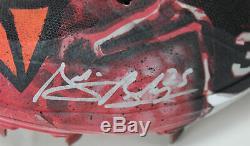 D-Backs Archie Bradley Signed'18 Game Used British Kustom Air Jordan Cleats BAS