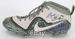 D-Backs Archie Bradley Signed Game Used 5/27/2018 Nike Cleats BAS & Photo Match