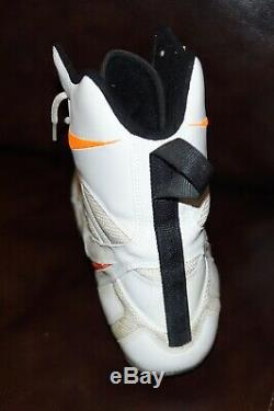 DAN MARINO #13 MIAMI DOLPHINS Signed Auto Game Used Worn NIKE Boot Cleat JSA COA