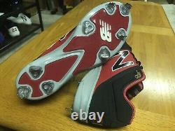 Daniel Murphy Washington Nationals Game Issued Not Used Cleats Mets Rockies