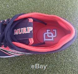 Daniel Murphy Washington Nationals Game Used PE Cleats MLB New Balance DC