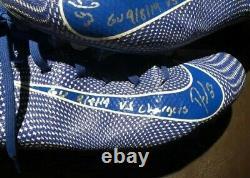 Darius Leonard Game Used Signed Autographed Cleats Indianapolis Colts Super Rare