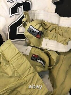 Darrell Scott Game used colorado buffalos jersey game worn pants cleats