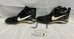 Darryl Strawberry Signed Game Used 1996 NY Yankees Cleats with Certificate