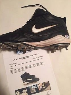 David Ortiz Autographed Game Used Cleat Size 12 PSA/DNA and MEARS LOA