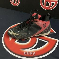 David Ortiz Boston Red Sox Game Used Cleat Signed Steiner