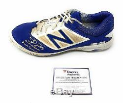 David Ross Chicago Cubs Signed Autograph Game Used Signed Inscribed Cleat Fanati