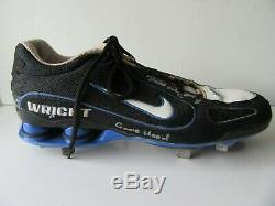 David Wright Mets Nike Game Used Cleats Both Signed & Marked Game Used COA