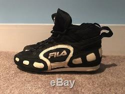 Derek Jeter Game Used FILA Cleats