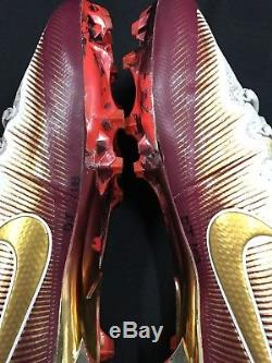Derwin James Fsu Seminoles Signed Game Used Nike Promo Sample Cleats Jsa Coa