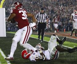 Dimitri Flowers Oklahoma Sooners 2018 Rose Bowl Game Used Football Cleats