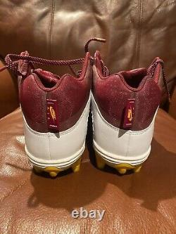 Dwayne Haskins Auto Game Used Jordan Cleats Signed Coa Photo Proof