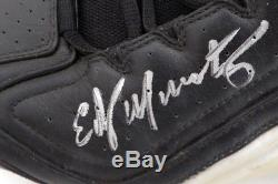 Edgar Martinez Autographed Pair of Game Used Reebok Cleats Signed Cert 128272