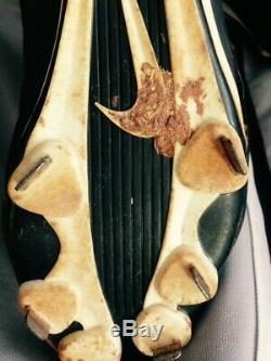 Eloy Jimenez signed game used 2017 cleats spikes Winston-Salem Dash