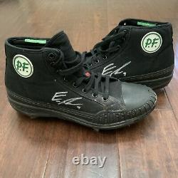 Eric Thames GAME USED PF FLYERS CLEATS pair autograph SIGNED Brewers worn