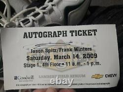 FRANK WINTERS GREEN BAY PACKERS Center Signed Game Used / Issued Cleat COA