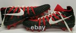 FRED WARNER Signed SAN FRANCISCO 49ERS 2019 GAME USED Cleats, Shoes. BECKETT