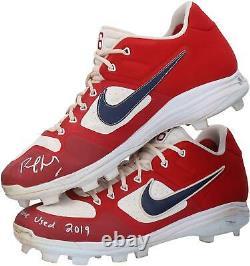 Game Used Paul Goldschmidt Cardinals Cleat Fanatics Authentic COA Item#10013139