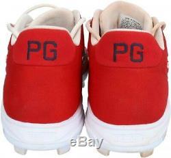 Game Used Paul Goldschmidt Cardinals Cleat Fanatics Authentic COA Item#10013140