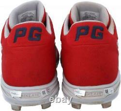Game Used Paul Goldschmidt Cardinals Cleat Fanatics Authentic COA Item#10951747