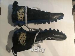 Game Used Worn Cleats Daryl Worley Signed Carolina Panthers Chucky