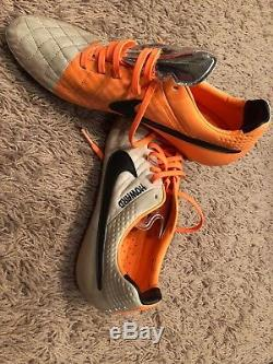 Game Used Worn Soccer Cleats Worn By Tim Howard MLS Jersey USA