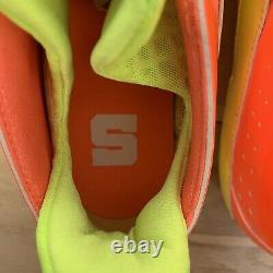 Game Worn SAMPLE 2011 Nike Huarache III Syracuse Lacrosse Cleats Mens Sz 10.5