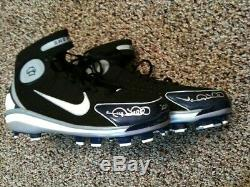Gary Sheffield Signed Auto Game Used Cleats Pair New York NY Yankees Tigers