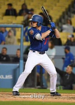 Gavin Lux Game Used Custom Jordan IV Cleats LAD Dodgers Spring Training MLB RARE